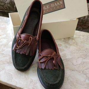 NIB Cole Haan Forest Country Camper Loafer Vintage